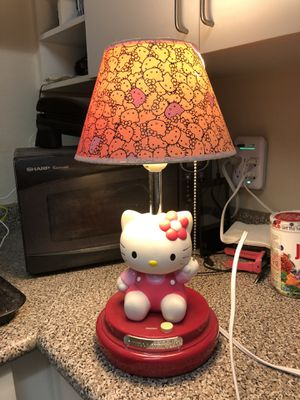 Hello Kitty Table Lamp for Sale in San Ramon, CA