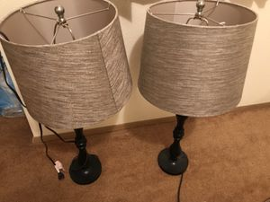 Two nice lamps for Sale in Seattle, WA