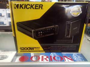 Kicker cxa600.1 for Sale in Las Vegas, NV