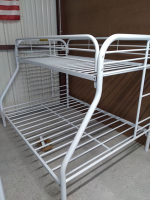 Beautiful New Twin / Full Bunk Bed On Sale ( was 399 ) for Sale in Davenport, FL