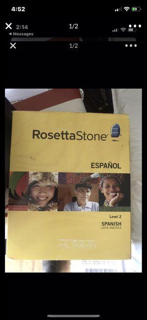 Rosetta Stone Spanish. Paid $300 never used for Sale in Redondo Beach, CA