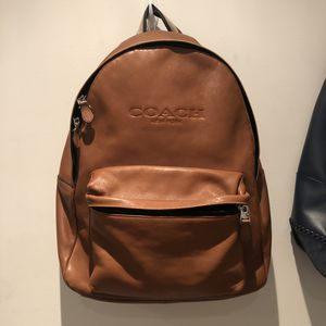 COACH MENS LEATHER BACKPACK for Sale in Los Angeles, CA