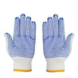 Working Gloves With PVC Dots. 10 Pair Pack for Sale in Los Angeles,  CA