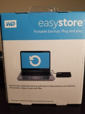 Easystore 4tb portable backup hard drive for Sale in Anaheim, CA