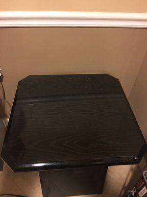 Two Black End Tables for Sale in Ashburn, VA