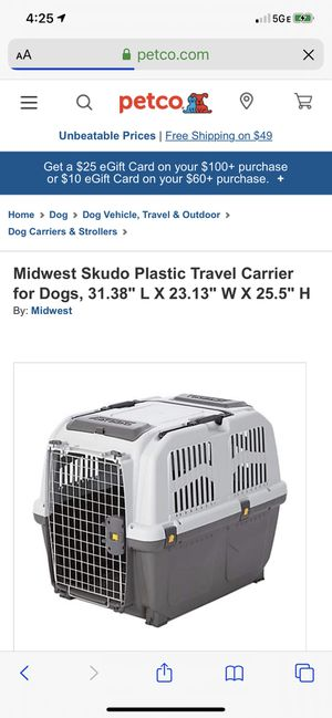 Skudo large dog crate for Sale in Bakersfield, CA