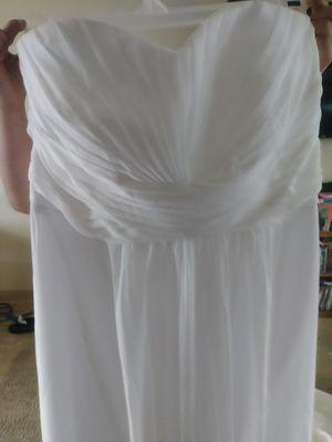 Wedding dress size 16 for Sale in Wichita, KS