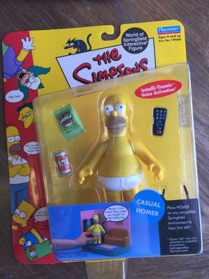 The Simpsons Action figure casual homer series 4 for Sale in Las Vegas, NV