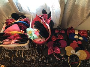 Minnie mouse ears and Mickey Mouse , new for Sale in Long Beach, CA