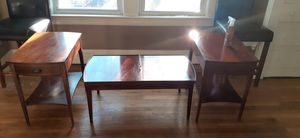 Antique coffee table and matching end tables for Sale in Garfield Heights, OH