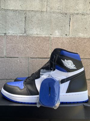 Jordan 1 'Royal Toe' size 9.5 for Sale in Los Angeles, CA