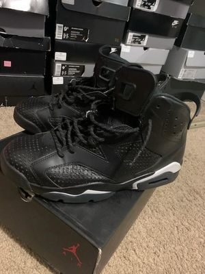 Size 9.5 black cat Jordan retro 6 9/10 condition serious buyers only please and thanks for Sale in Everett, WA