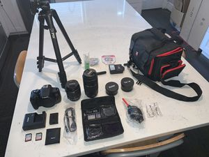 Canon EOS Rebel T6 DSLR Camera DEAL PACKAGE for Sale in Washington, DC