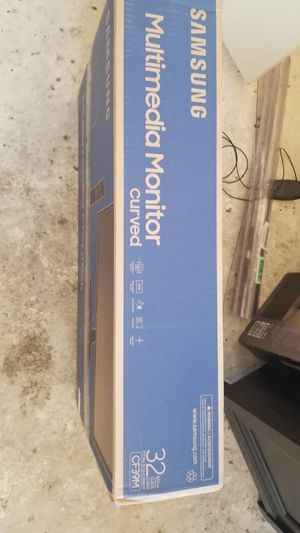Curved monitor New In box 32 inch. Never opened for Sale in Crandall, TX