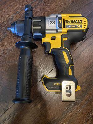 Dewalt 20v XR brushless 3 speed hammer drill tool only for Sale in Washington, DC