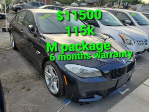 2012 bmw 535i M package 115k for Sale in Salem, MA