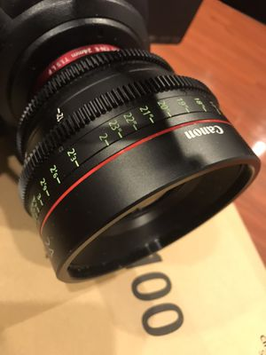 Canon lense 24 ft1.5 for Sale in Los Angeles, CA