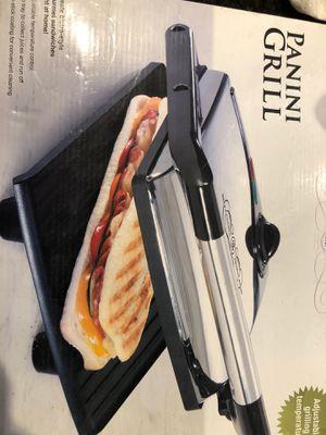 Panini grill maker for Sale in Chula Vista, CA