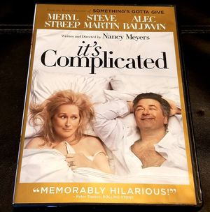 It's Complicated DVD for Sale in Marysville, WA