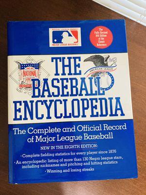 Collectible/Vintage - Baseball Encyclopedia 8th Edition for Sale in San Antonio, TX