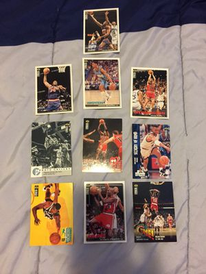 Collectors Choice 10 NBA 90's Players Cards ($10 for all) for Sale in Wildomar, CA