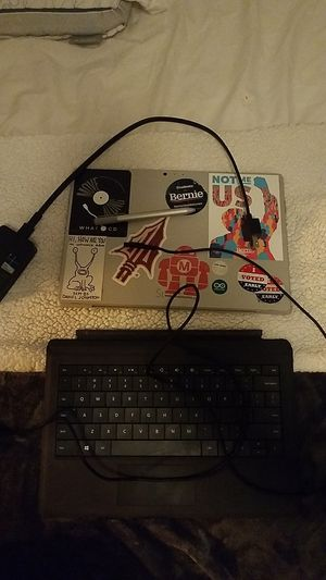 Surface Pro 3 Tablet (FOR PARTS) and accessories for Sale in Tallahassee, FL