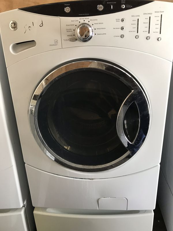 XL GE Front Loading Washer on pedestal $200