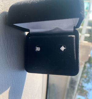 Certified princess cut diamond earrings .51 sale today only for Sale in Vista, CA