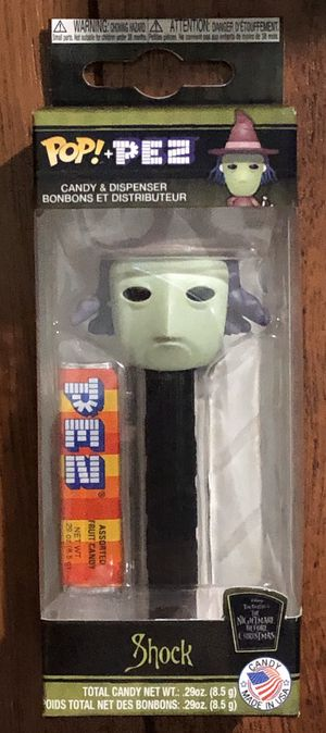 Funko POP Pez Nightmare before Christmas Shock for Sale in SIENNA PLANT, TX