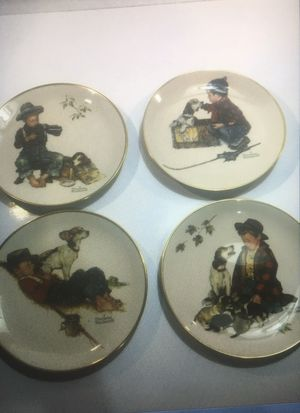 Norman Rockwell Ford Seasons Collector's Plates 1971 Gotham China for Sale in Lakewood, WA