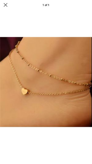 Gold plated anklet for Sale in Silver Spring, MD