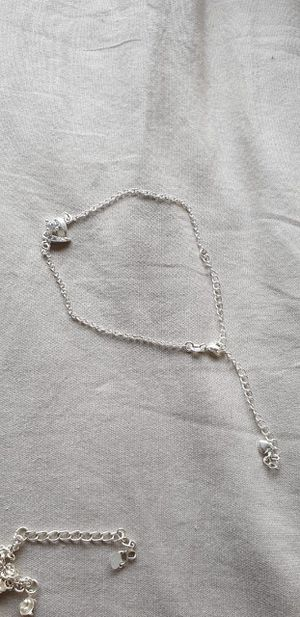 925 sterling silver anklet size large for Sale in Falls Church, VA