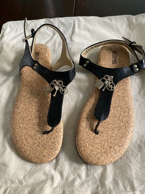 Michael Kors sandals size 5 fit like 6 for Sale in Cicero, IL