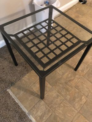 Small square glass table for Sale in Winters, CA