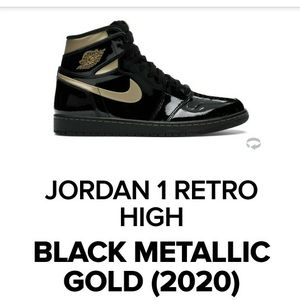 Air JORDAN 1 METALIC GOLD SIZE 10.5 for Sale in Smyrna, TN