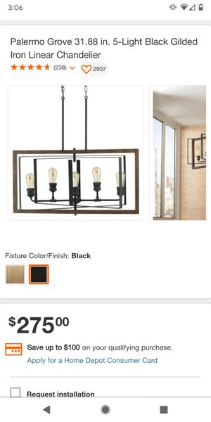 Iron chandelier for Sale in Mesa, AZ