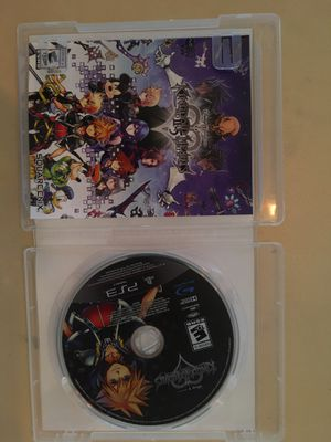 Sony PlayStation ps3 kingdom hearts ll.5 for Sale in VISALIA, CA