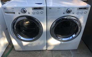 LG SET WASHER AND GAS DRYER for Sale in Pomona, CA