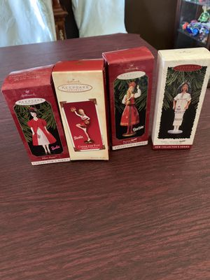 Hallmark Barbie Ornaments lot of 4 for Sale in Peyton, CO