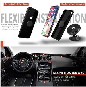 Magnetic Phone Holder Mount for Car - Universal 360° Rotation Car Phone Mount Compatible Phone X XS XR MAX 8 Plus, Galaxy S9 S8 Note 8, GPS, Mini Tab for Sale in McLean, VA