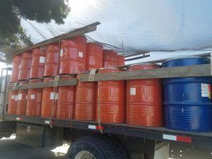 55 gal food grade metal drums for Sale in Sanger, CA