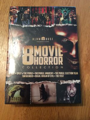 DVD Movies 8 pack of Horror Movies unopened for Sale in Meriden, CT