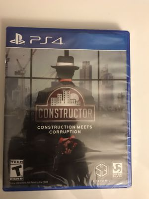 PS4 Constructor - Never Opened for Sale in Miami, FL
