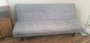 Gray futon (folds into a bed) for Sale in Coral Springs, FL