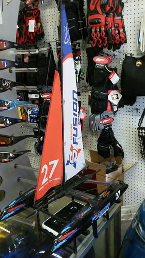 Radio controlled electric sailboat brand new special clearance for Sale in Los Angeles, CA