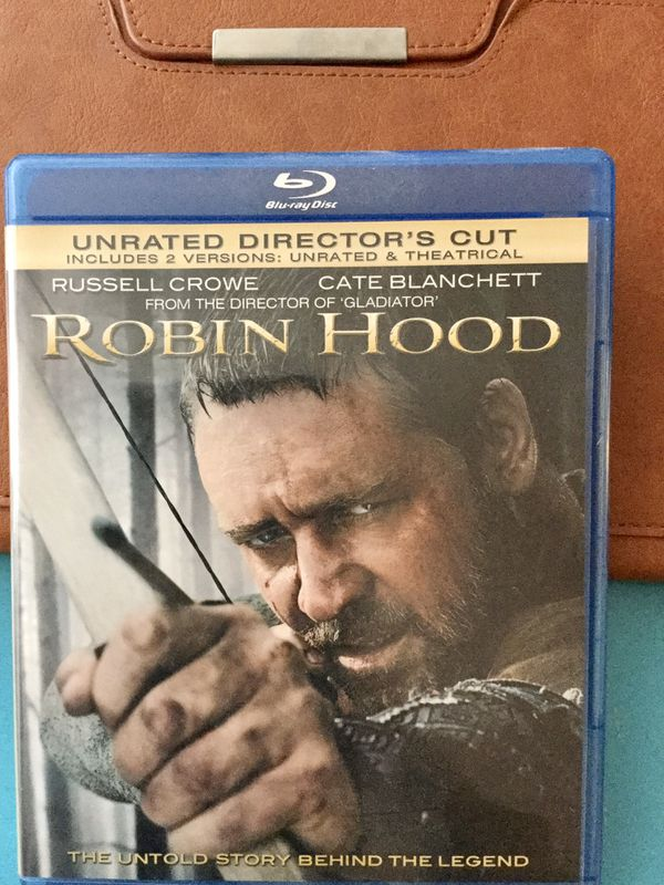 MOVIE 🎥😁 🍿 ROBIN HOOD 3 Blue - Ray DVD 's / Check my page for more Movies & Video Games