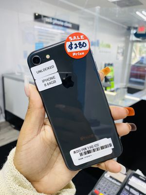 Unlocked iPhone 8 64GB only $280 today!! Available colors: black and white! for Sale in Tampa, FL