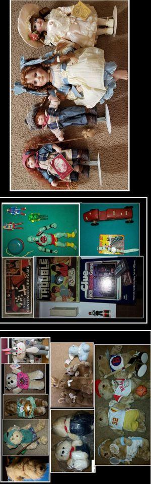 Vintage Toy/Games/Dolls Collection for Sale in Garner, NC