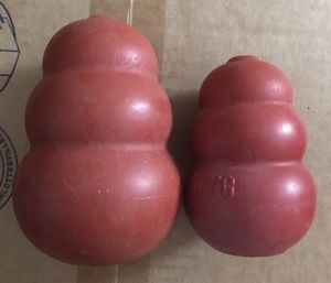 (2) Kong Dog Treat Holders 1 Large 1 Small for Sale in CHRISTIANSBRG, VA