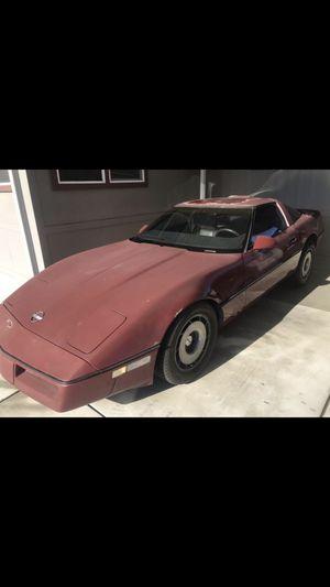 1986 Chevy Corvette-runs/registered for Sale in Escondido, CA